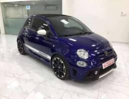 Fiat 500 Abarth 2019 (Blue)