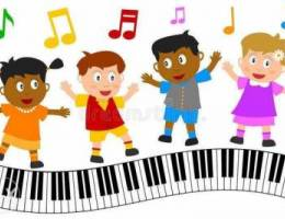 Piano Lessons Music and Singing