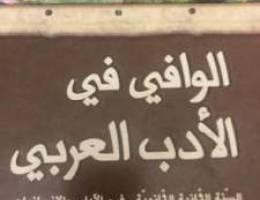 الوافي في الأدب العربي