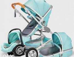 Luxury Baby Stroller 3 In 1