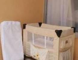 """Clean Baby bed with matress """"lit parapluie..."""