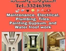 Home Gypsum work