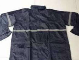 Rain coat for delivery riders