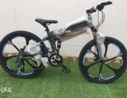 New folding aluminium bicycles