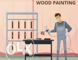 Spray furniture Painter needed