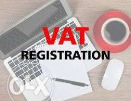 خدمات التسجيل في ضريبة القيمة المضافة
