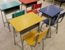 طاولات َكراسي دراسيه