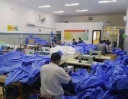 Stitching unit for uniform/bedsheets/gowns...