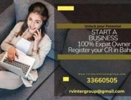 100% Expat Company CR in Bahrain