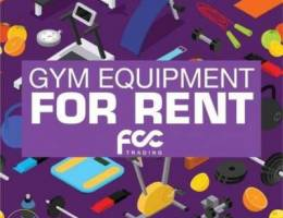 Gym Equipment For Rent