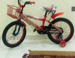 Brand New kids cycle with basket and bottl...
