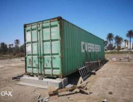 40 feet container excellent condition