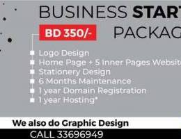 Business Startup Package (Graphic Design a...