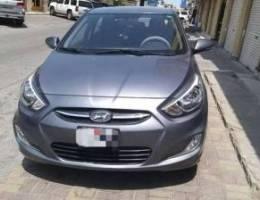 2017 model Hyundai accent Hatchback