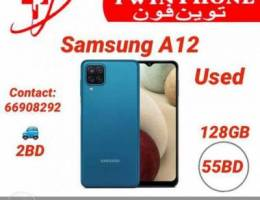 Samsung A12 With box