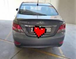 Hyundai accent 2018 midoption