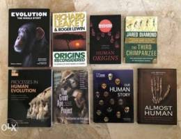 SALE Science Books (Evolution and Humans)
