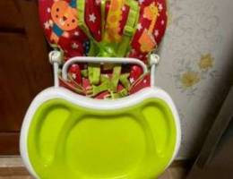 Baby feeding chair and stroller