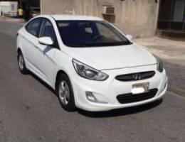 Hyundai Accent 2017 (white)