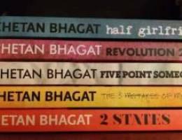 1 bd each Chetan Bhagat