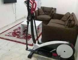Cross trainer bike