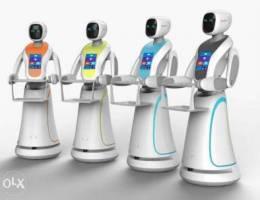 Waiter Robots روبوت مقدم الطعام