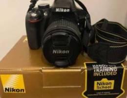 Nikon D3300 DSLR Camera Black(in a very go...