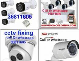 CCTV package with good fixing