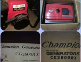 Robin 2.6KW generator