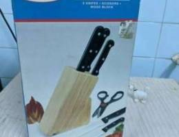 Brand New 5 knife set