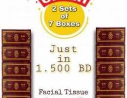 Bin-Riad Sandooq Facial Tissues