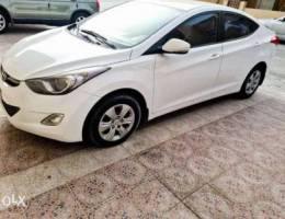 Hyundai elantra 2013 model single owner