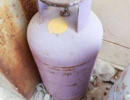 Urgent sale gas cylinder medium size