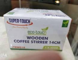 Wooden Coffee Stirrer 14 cm