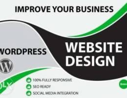 WE do full website design and development,...