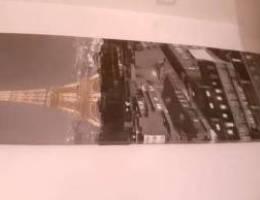 Canvas Art - Eiffel Tower