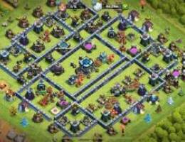 Nearly maxed th13 for sale حساب كلاش اوف ك...