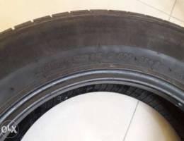 Good year tyre 205/65 and gym machine
