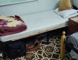 Single bed frame only.