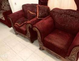 Sofa complete set with curtains