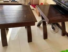 fir sale 2 wooden tables very good conditi...