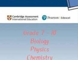Summer Class | Gr 7 - 10 | IGCSE