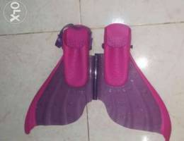 Swimming flippers size UK 13