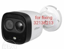 Office, shop, house, etc. Camera fixing