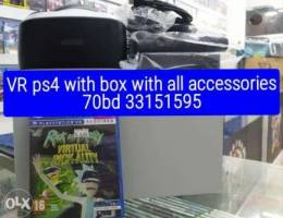vr ps4 with all accessories