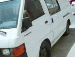 Mitsubishi van for urgent sale - leaving c...