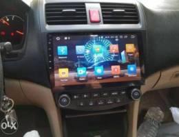 Honda accord android screen