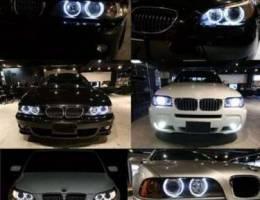 Angel eyes for BMW (عيون الملاك لسيارات BM...