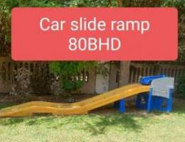 Car slide ramp