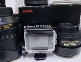4 lenses two cameras